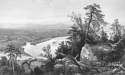 1874 Photograph - Connecticut River, 1874 by Granger