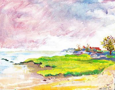 Connecticut Shore Art Print by Vannucci Fine Art