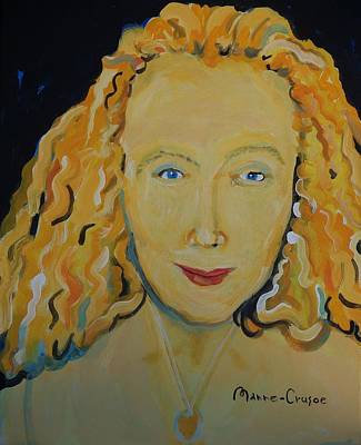 Painting - Connie Crothers by Jay Manne-Crusoe