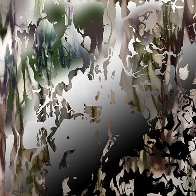 Collective Unconscious Digital Art - Conscious Effort Detail 6 by Richard Fisher