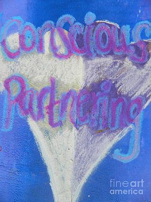 Painting - Conscious Partnering by Kat Kemm