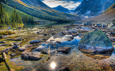 Craig Brown Photograph - Consolation Lakes by Craig Brown
