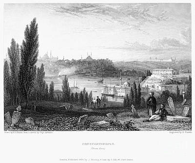 1833 Photograph - Constantinople, 1833 by Granger