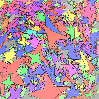 Constellation Art Print by Gregory Scott