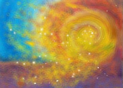 Painting - Constellation Of The Imagination by Anne Cameron Cutri