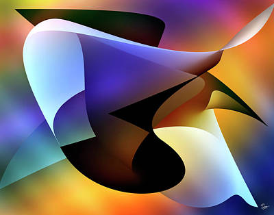 Digital Art - Soulscape 5 by Endre Balogh