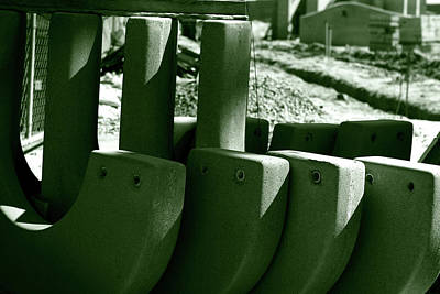 Photograph - Construction Site Curves by Lorraine Devon Wilke