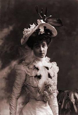 Ambition Photograph - Consuelo Vanderbilt 1877-1964 by Everett