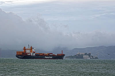 Photograph - Container Ship by Gary Rose