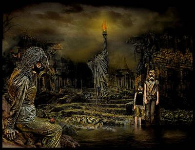 Villalba Photograph - Contaminacion Mortal by Raul Villalba