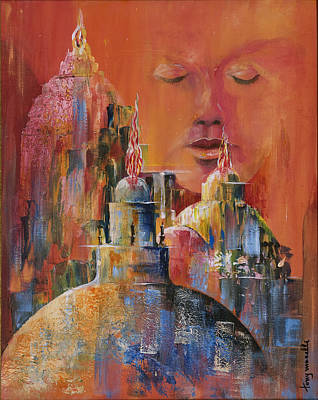 Painting - Contemplatio by Tony Macelli