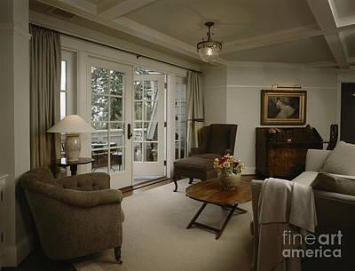 Contemporary Sitting Room Art Print by Robert Pisano