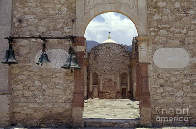 Photograph - Convent Church Bells  Mexico by John  Mitchell