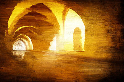 Art Print featuring the digital art Convento by Andrea Barbieri