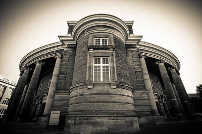 Photograph - Convocation Hall by Anthony Rego