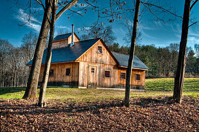 Photograph - Conway Sugar Shack by Fred LeBlanc