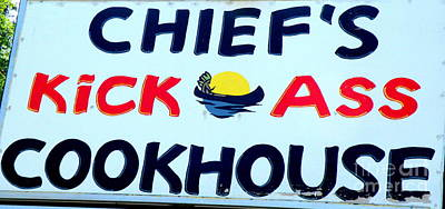 Cookhouse Sign  2 Art Print