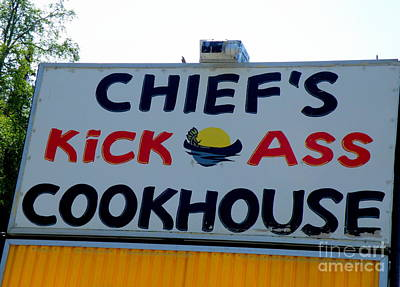 Cookhouse Sign Art Print