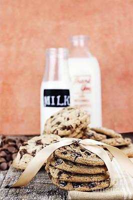 Cookies And Cream Art Print by Stephanie Frey