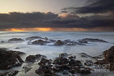 Turbulent Skies Photograph - Cooks Chasm by Keith Kapple