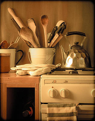Photograph - Athens, Greece - Cook's Tools by Mark Forte