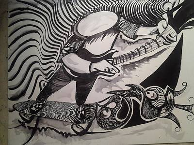 Cool Breeze Art Print by Modesto Aceves