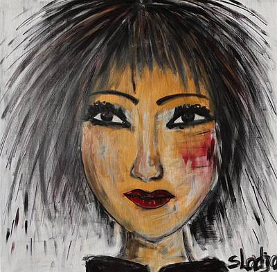 Portraits Painting - Cool Is My Thing by Sladjana Lazarevic