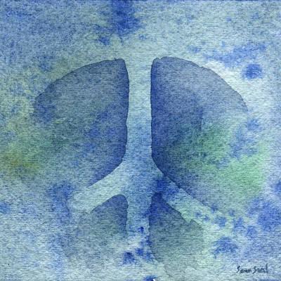 Cool Peace Art Print by Sean Seal