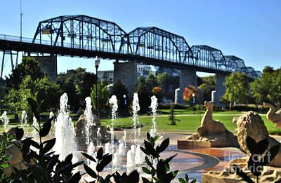 Susan Jones Photograph - Coolidge Park In Chattanooga by Susan Jones
