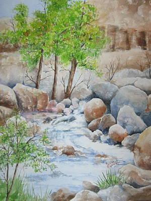 Cooling Stream II Art Print