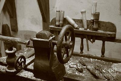 Cooperage Tools Print by Gaspar Avila