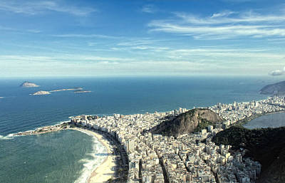 Ipanema Beach Photograph - Copacabana And Ipanema by Antonello