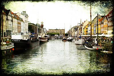 Copenhagen Denmark Art Print by Joan McCool