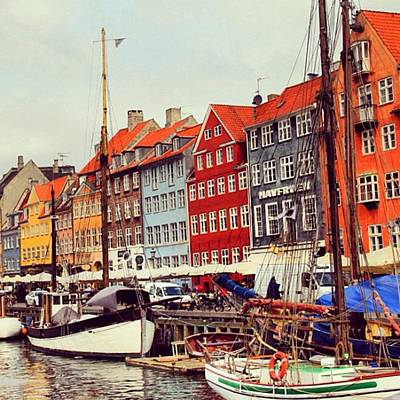 Landscapes Wall Art - Photograph - Copenhagen by Luisa Azzolini