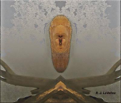 Copper Beech With Driftwood 2 Art Print