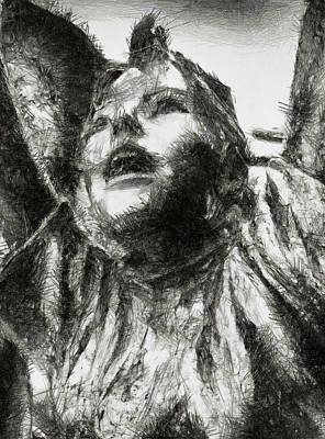Photograph - Copper Joy - Sketch by Nicholas Evans