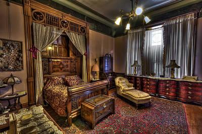 Copper King's Master Bedroom - Butte Montana Art Print by Daniel Hagerman