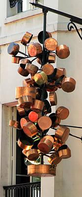 Photograph - Copper Pots by Andrew Fare