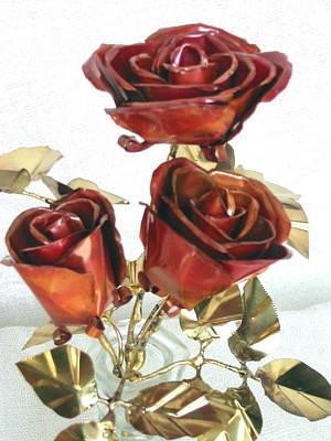 Copper Roses Original