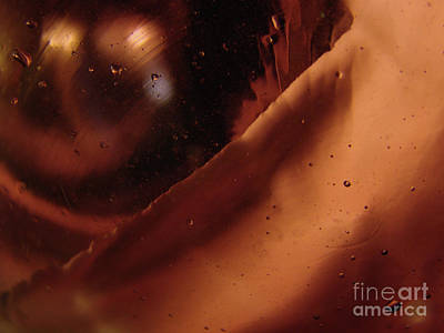 Photograph - Copper Wave And Orb by Mark Holbrook