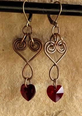 Copperhearts Original by Jan Brieger-Scranton