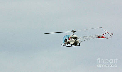 Photograph - Copter by Terri Mills