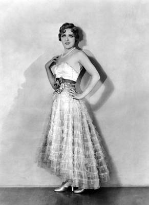 Coquette, Mary Pickford, In A Gown Art Print by Everett