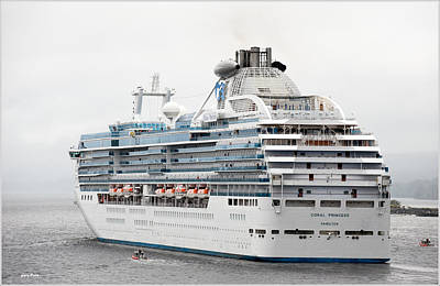 Photograph - Coral Princess by Gary Rose