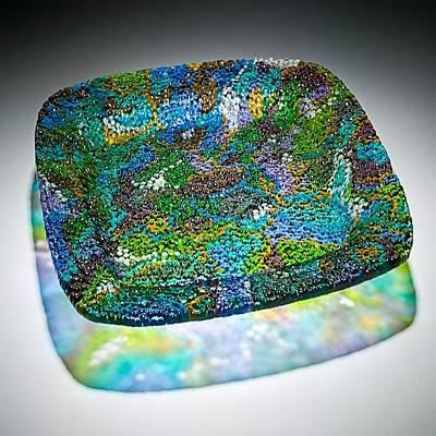 Fused Drawing - Coral Reef by David  Beers