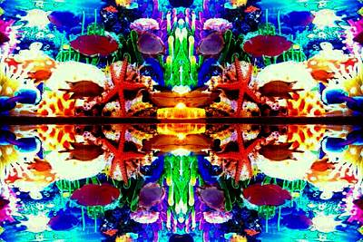 Coral Reefs 4 Art Print by Rom Galicia