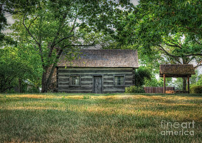 Log Cabins Photograph - Corbett's Cabin by Pamela Baker
