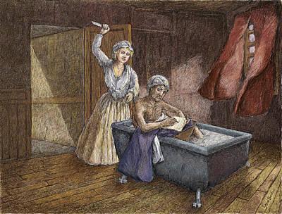 Corday And Marat Art Print