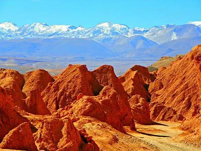 Photograph - Cordillera De Los Dinosaurios by Sandra Lira