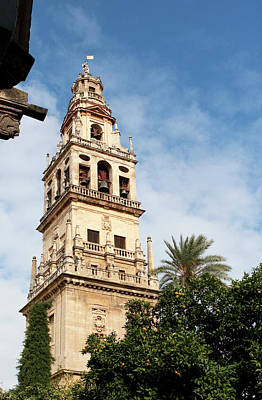 Photograph - Cordoba Bell Tower by Lorraine Devon Wilke